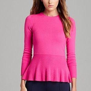 Lily Pulitzer Aurora Hot Pink Sweater size Large